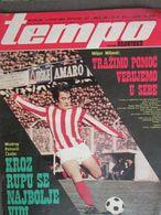 "ILLUSTRATED SPORTS MAGAZINE ""TEMPO"" YUGOSLAVIA,  1973 - Sports"