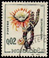 Monaco Obl. N°  537 B - Plante Exotique, Selenicieux Sp - Monaco