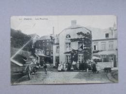 Ombret, Amay, Les Moulins, Edit. Laflotte N°11, NL, 1911, Voie Du Tram, Animée, Charrette, Vers Fontin Esneux - Amay