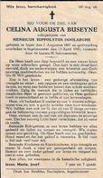 Ieper, Ingelmunster, 1940, Celina Buseyne, Doolaeghe - Devotion Images