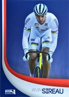 Postcard Kevin Sireau -  Federation Francaise De Cyclisme - 2015/2016? - Cycling
