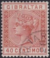 Gibraltar     .    SG        .    27      .      O      .       Cancelled .   /   .   Oblitéré - Gibraltar