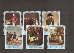 Napoléon ( 499/504 XXX -MNH- Du Libéria) - Napoléon