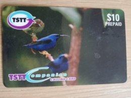 TRINIDAD & TOBAGO    $10,-  NO T&T-P2 TYPE2  TSTT  BIRD OF SANCTUARY    ** 2198** - Trinité & Tobago