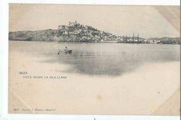 IBIZA : Vista Desde La Isla Llana - Edicion Hauser Y Menet N°1319 - Ibiza