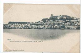 IBIZA : Vista Desde La Carretera De Santa Eulalia - Edicion Hauser Y Menet N°1320 - Ibiza