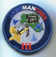 X 434 ECUSSON PATCH OPEX AIR AVIATION AERONAVALE OPERATION ARROMANCHES III SUR VELCRO NOIR 90 Mm - Ecussons Tissu