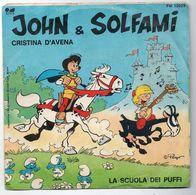 """Cristina D'Avena (1983)  """"John & Solfami"""" - Vinyl Records"""