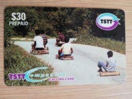 TRINIDAD & TOBAGO    $30,-  NO T&T-P7  TSTT      ** 2202** - Trinité & Tobago