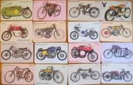 Carta Telefonica Lotto Moto - Motos