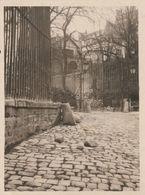 Paris  XVI - Passy - 1925 - Photo Entrée Du Parc De La Princesse De Lamballe  - Scan Recto-verso - Luoghi