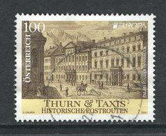 Oostenrijk 2020 Mi Europa Cept, ,Thurn En Taxis, Gestempeld - 1945-.... 2ème République