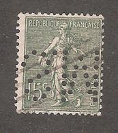 Perforé/perfin/lochung France No 130 S.M Sté Marseillaise De Crédit (170) - France