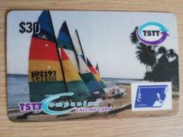 TRINIDAD & TOBAGO    $30,-  NO T&T-P 15   TSTT   WIND SAILS       ** 2207** - Trinité & Tobago