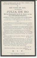 BP De Bo Julia (Etikhove 1881 - Gent 1915) - Colecciones