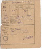 1519 32 Commune MAUROUX Gers   LAISSER PASSER ALAMBIC Eau De Vie 1925 Contributions Indirectes Impôts - Frankreich
