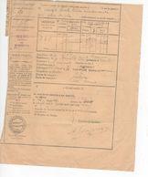 1520 32 Commune ST CLAR Gers   LAISSER PASSER ALAMBIC 28 Litres  Eau De Vie 1929 Contributions Indirectes Impôts - Frankreich