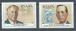 Afrique Du Sud YT N°743/745 Savants Sud-africains Neuf ** - South Africa (1961-...)