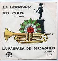 """Banda E Coro Diretto Maestro Zanin(anni 60)  """"La Leggenda Del Piave  -  La Fanfara Dei Bersaglieri"""" - Instrumental"""