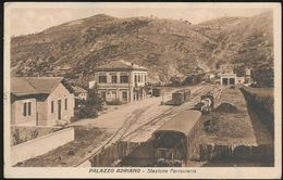 PALAZZO ADRIANO (PALERMO) - STAZIONE FERROVIARIA 1936 - Palermo