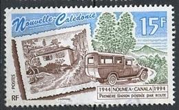 Nouvelle Calédonie - Neukaledonien - New Caledonia 1994 Y&T N°656 - Michel N°(?) (o) - 15f Liaison Postale Par Route - Used Stamps