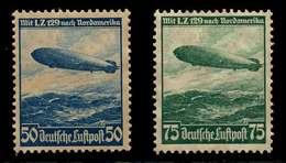 DEUTSCHES REICH 1936 Nr 606X-607X Postfrisch X77D432 - Unused Stamps
