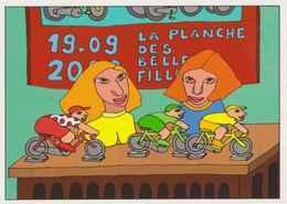 Cpm 1741/519 ERGON - La Planche Des Belles Filles - Tour De France 2020 - Vélo - Cyclisme - Bicycle - Illustrateur - Ergon
