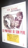 Carte Postale : Jean Richard - Brigitte Bardot (film Cinéma Affiche) Le Portrait De Son Père (illustration : Moallic) - Posters On Cards