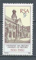 Afrique Du Sud YT N°479 Université De Pretoria Neuf ** - South Africa (1961-...)