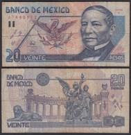 MEXIKO - MEXICO - 20 Pesos 1994 Pick 106a F (4)   (26450 - Banconote