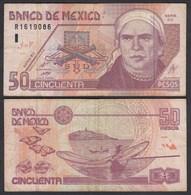 MEXIKO - MEXICO - 50 Pesos 2002 Pick 117b F (4)   (26448 - Banconote