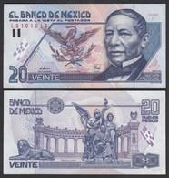 MEXIKO - MEXICO - 20 Pesos 1992 Serie F Pick 100 XF- (2-)   (26460 - Bankbiljetten