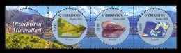 Uzbekistan 2020 Mih. 1410/12 Minerals MNH ** - Uzbekistan