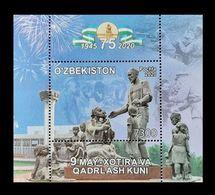 Uzbekistan 2020 Mih. 1413 (Bl.106) World War II. 75th Anniversary Of The Victory MNH ** - Uzbekistan