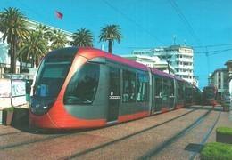 TRAM * TRAMWAY * RAIL * RAILWAY * RAILROAD * ALSTOM CITADIS * CASABLANCA * MOROCCO * MOROCCAN * Top Card 0488 * Hungary - Tramways