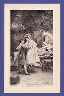 COUPLE Grand Siècle  Premiere Etape Par Illustrateur J Gerardet ( Très Très Bon état )  V707 - Couples
