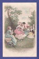 COUPLE AMOUR Grand Siècle  Par Illustrateur ( Très Très Bon état )  V706 - Parejas