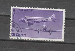 FRANCE / 1986 / Y&T PA N° 59b : Wibault 283 (papier Couché) - Choisi - Cachet Rond - Poste Aérienne