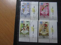 VEND BEAUX TIMBRE DE POSTE AERIENNE DU CAMEROUN N° 335 - 338 + BDF + CD , XX !!! - Cameroon (1960-...)