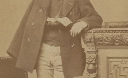 étrange-CDV Homme élégant Mais Qu'est-il Arrivé à Son Bras Droit? Photographie Parisienne à Bruxelles- Belgique - Old (before 1900)