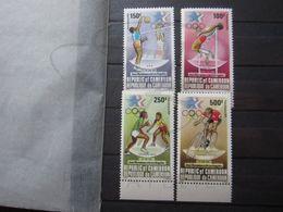 VEND BEAUX TIMBRES DE POSTE AERIENNE DU CAMEROUN N° 335 - 338 + BDF , XX !!! - Cameroon (1960-...)