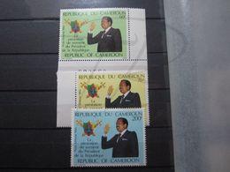 VEND BEAUX TIMBRES DE POSTE AERIENNE DU CAMEROUN N° 332 - 334 , XX !!! - Cameroon (1960-...)