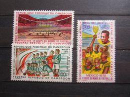 VEND BEAUX TIMBRES DE POSTE AERIENNE DU CAMEROUN N° 165 - 167 , XX !!! - Cameroon (1960-...)