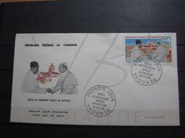 VEND FDC DE POSTE AERIENNE DU CAMEROUN N° 109 !!! - Cameroon (1960-...)