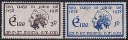 Ireland EIRE 74/5 - Temperance Movement 1938 - MH - 1937-1949 Éire