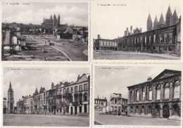 Tournai 1940 - Les Dégats Dus à La Guerre - Lot De 10 Cartes - Pas Circulé - Edition Belge - TBE - Tournai