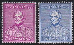 Ireland EIRE 129/30 - University Newman 1954 - MNH - 1949-... Republic Of Ireland