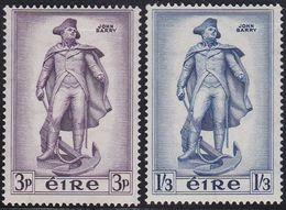 Ireland EIRE 133/34 - John Barry 1956 - MNH - 1949-... Republic Of Ireland