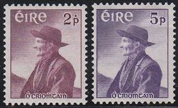 Ireland EIRE 137/38 - Tomas O'Criomhtains 1957 - MNH - 1949-... Republic Of Ireland
