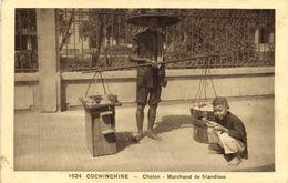 COCHINCHINE  Cholon Marchand De Friandises  RV - Viêt-Nam